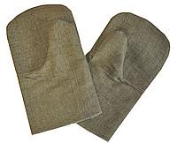 Рукавицы брезентовые с 2-м наладонником ОП, размер 2 (пл. 420 г/м)