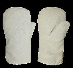 Рукавицы утепленные (утепл. ватин 1-сл.)  Белые