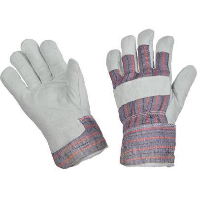 Перчатки Ангара спилковые комбинированные