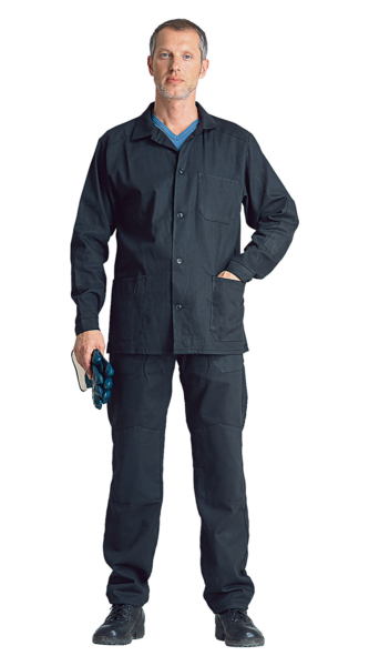 Костюм рабочий: куртка, брюки.
