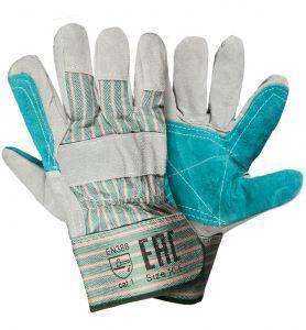 Перчатки Докер спилковые комбинированные