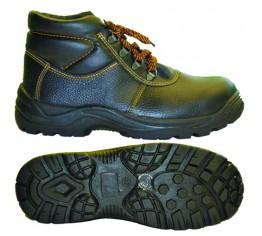 Ботинки юфть ПУ с МП