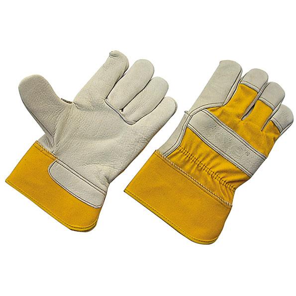 Перчатки «ЮКОН», комбинированная кожа, утепленные