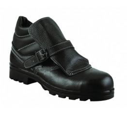 Ботинки «Сварщик» юфть с МП Зима